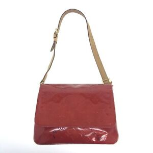 100% authentic Louis Vuitton Vernis Thompson Street Rouge M91094 [Used] 1224-05C