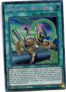 Yu-GI-OH Synchro Überholen Secret Rare DAMA-DE067