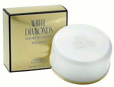 White Diamonds Perfumed Body Powder 2.6oz 75g in Box by Elizabeth Taylor