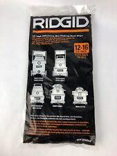 Ridgid VF3502 High Efficiency, Dry Pickup Dust Bags for 12-16 Gallon Ridgid