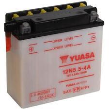 BATTERIA YUASA 12N5.5-4A 12V/6AH  KAWASAKI 400 Z (KZ400S1/3) 1975-1977