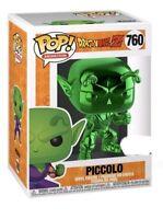 Funko Pop Piccolo Green Chrome #760 Dragonball Z ECCC Shared Exclusive IN HAND