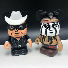 LONE RANGER walt disney vinylmation figures set theme parks Johnny Depp mickey