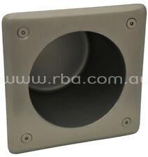 RBA SECURITY RECESSED TOILET ROLL HOLDER 178mm Vandal Resistant, Stainless Steel