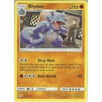 Rhydon - 94/214 - Uncommon Card - Pokemon TCG Sun & Moon Unbroken Bonds Cards
