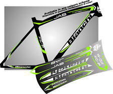 BIANCHI jab bike ADESIVI stickers aufkleber autocollant WELCOME intern. buyers