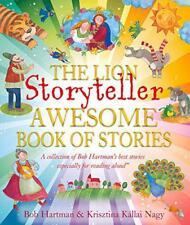 The Lion Storyteller Awesome Book of Stories by Bob Hartman | Paperback Book | 9