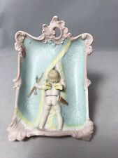 Schafer & Vater Whimsical Flipper Of Naughty Cupid And Woman Using Chamber Pot