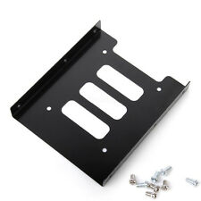 "Hot 2.5"" SSD HDD to 3.5"" Metal Mounting Adapter Bracket Dock Convert Rack For PC"