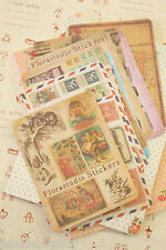 Florastudio Vintage Cartoon Stickers Mini Set diary planner deco craft sticker