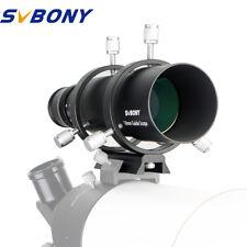 SVBONY 50mm CCD Imaging Guide Scope Finderscope + Bracket Astronmical Telescopes