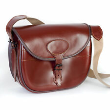 Luxurious Genuine Real Leather Cartridge Bag 100 - 125 Shell Capacity