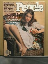 BROOKE SHIELDS Pretty Baby / PEOPLE Magazine / May 1978