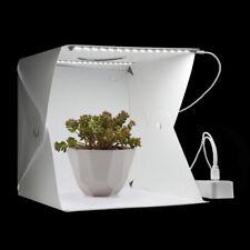 Photo Studio Light Box Tent Photography Mini Folding Softbox Background 2 LEDs