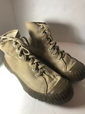 e01fa28a287a Rare Vintage Converse Jack Purcell Size 10 Made in USA Army Trooper Shoes