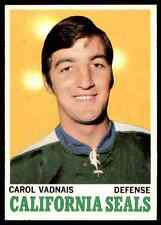 1970-71 Topps Carol Vadnais #70