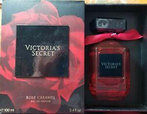 Victoria's Secret ROSE CARAMEL Eau de Parfum 3.4 fl oz 100 ml new in a gift box