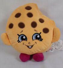 """Shopkins 2013 10"""" Moose Toys Kooky Cookie Yellow Plush Pillow"""