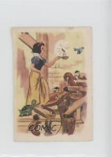 1939 Chocolat Menier Blanche-Neige et les Sept Nains #58 Snow White Card k5c