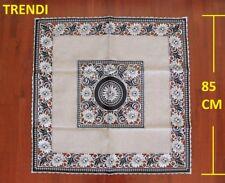 Black, White & Silver Lace & embroider SquareTablecloth 85cm suit coffee table
