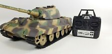 1/16 Heng Long King Tiger Military Panzer Tank Henschel Turret BB shooting 2.4G