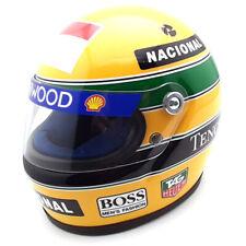 1993 helmet Ayrton Senna - scale 1/2 Minichamps