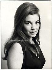 Anne de Vigier. Britische Schauspielerin, Original-Photo von 1969