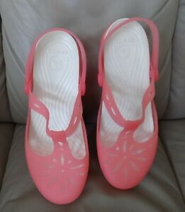 Crocs Beach Sandals Slip on Clogs Size 6