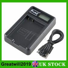 LCD Battery Charger For Nikon EN-EL14 D3200 D3300 D3400 D5100 D5200 D5300 D5600