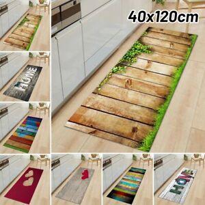Non-Slip Waterproof Kitchen Door Mat Home Floor Rug Carpet Anti-Oil Easy Clean