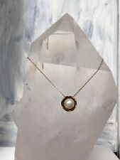 Stunning Rose Gold and Fresh water pearl necklace