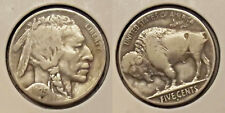 """1925-D BUFFALO NICKEL """"BETTER DATE"""" (5¢) COIN (LOT #1) w/ROTATED DIES"""