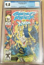 Ghost Rider #26 CGC 9.8 (1992) Jim Lee Cover X-Men Appear White Pages