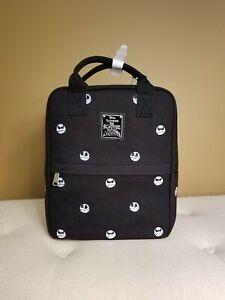 Loungefly Nightmare Before Christmas Jack Skellington Embroidered Backpack Black