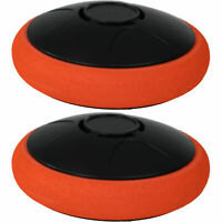 Sunnydaze Tabletop Air Hockey Electronic Rechargeable Hover Puck - Set of 2
