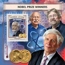 Sierra Leone 2016 MNH Nobel Prize Winners Physics Medicine 1v S/S Science Stamps