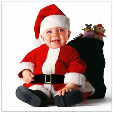 NEW Tom Arma SANTA CLAUS Baby COSTUME 6-12M HALLOWEEN Infant CHRISTMAS