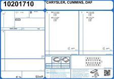 Conjunto Completo De Motor Junta Iveco Eurocargo tectores E21 5.9 209 F4AE0681D (3/2005 -)