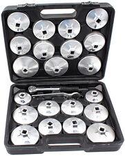 Ölfilterschlüssel Werkzeug Set 23-tlg. Ölfilter Kappen Schlüssel PKW Öl Wechsel