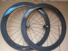 Factory sale!700C 60mm deep carbon clincher wheels/carbon road bike wheels