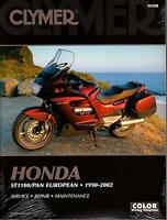 HUGE 1990-2002 CLYMER HONDA ST1100/ PAN EUROPEAN SERVICE MANUAL M508
