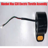 NEW Electric Assembly Throttle Replacement for Ninebot Max G30 Spare Parts Black