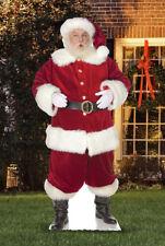 Ho Ho Santa Standee Outdoor Stand Up Christmas Decoration Lifesize Cardboard