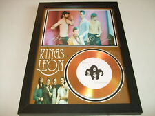 KINGS OF LEON   SIGNED GOLD CD  DISC  4