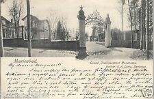 Marienbad Grand Etablissement Panorama  1902 Postcard