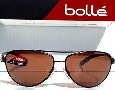 7c805b6f5c New  Bolle Columbus 62mm Aviator Copper W Bronze Polarized Lens Sunglass  11797