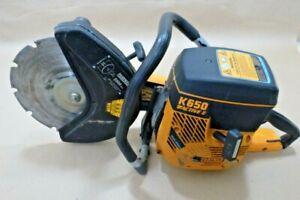 "Partner K650 Active II Concrete Saw ( Refurbished ) W/ 12"" Inch Blade"