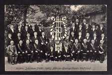 101865 AK Wolfsdorf Kr. Goldberg Schlesien Wilkow 1907 50 Jahre Männergesangsver
