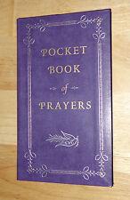 Pocket Book of Prayers - pocket-sized   bonded-leather
