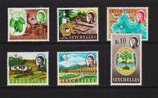 Seychelles - 1962 High Values, mint, cat. $ 38.50